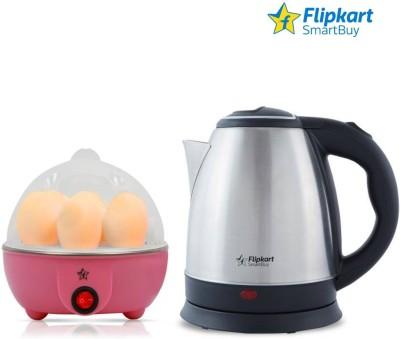 Flipkart SmartBuy kettle and egg boiler Electric Kettle  (1.8 L, Multicolor)