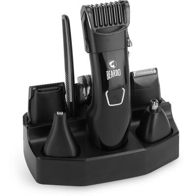 Beardo PR3058/59 Runtime: 45 min Multi Purpose Trimmer for Men (Black)