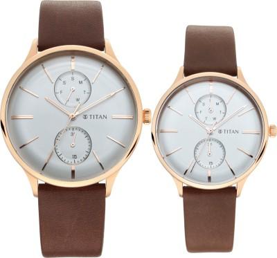 Titan 9400394203WL01 Analog Watch   For Men   Women Titan Wrist Watches