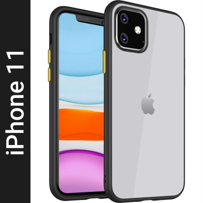 Golden Sand Back Cover for Apple iPhone 11(Transparent, Shock Proof)