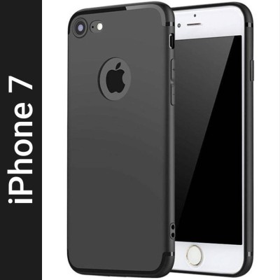EASYBIZZ Back Cover for Apple iPhone 7, Apple iPhone 8(Black, Flexible)