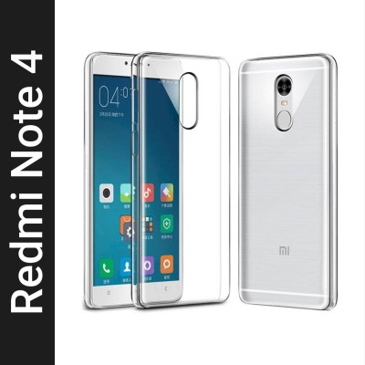 Trimanav Back Cover for Mi Redmi Note 4(Transparent, Flexible)