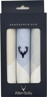 allen solly Men's Cotton Pastel Multicolour Handkerchief [