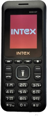 Intex Eco 107(Black+Grey)