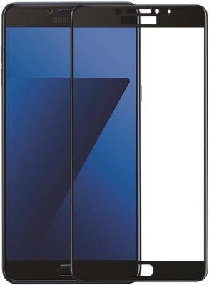 Suprimus Edge To Edge Tempered Glass for Samsung Galaxy C7 Pro(Pack of 1)