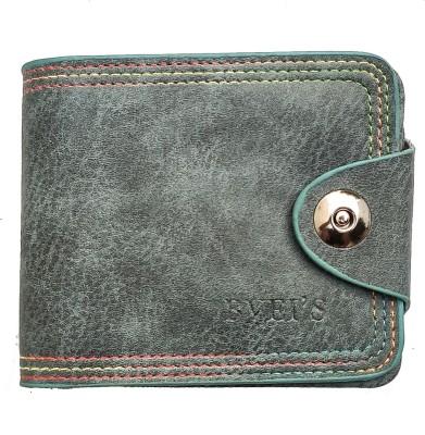 Ferrari Shining Men Green Genuine Leather Wallet 7 Card Slots Ferrari Shining Wallets