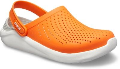Crocs Men Orange Sandals