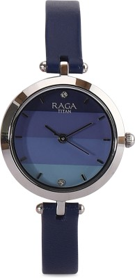 Titan 2606SL02 Raga Analog Watch   For Women