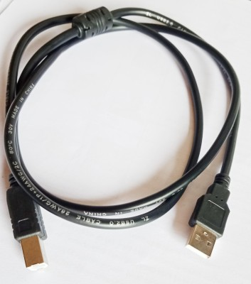 Bisys USB68765 1.5 m Micro USB Cable Compatible with Printer, Scanner, Black Bisys Mobile Cables
