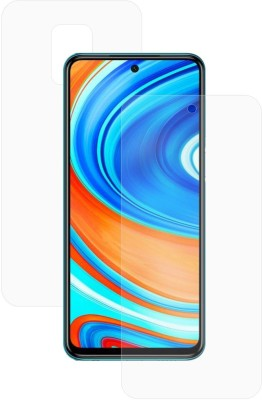 Case Creation Front and Back Screen Guard for Xiaomi Redmi Note 9 Pro(Pack of 2)