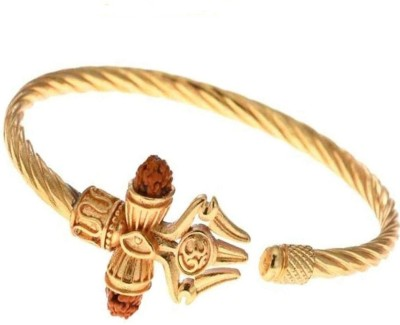 CloudConcept Brass Gold-plated Bracelet Set(Pack of 2)