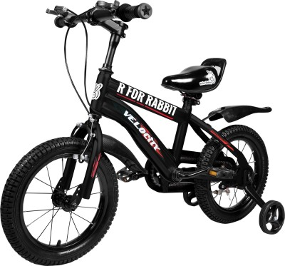 R for Rabbit Velocity bicycle 14 inch 14 T Road Cycle(Single Speed, Black)