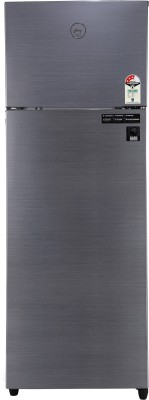 Godrej 290 L Frost Free Double Door Top Mount 3 Star  2020  Convertible Refrigerator Jet Steel, RF EON 290C 35 RCIF JT ST Godrej Refrigerators