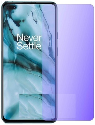 FlipSmartGuard Edge To Edge Tempered Glass for Anti Blue Ray Tempered Glass, Smart Screen Protector Blue Light Resistant Eyes Protect Film for OnePlus Nord (Anti Blue) [Full Coverage, Eye Protect, Case Friendly](Pack of 1)