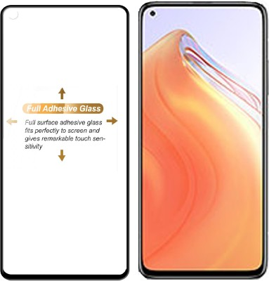 Knotyy Edge To Edge Tempered Glass for Xiaomi Mi 10T 5G(Pack of 1)