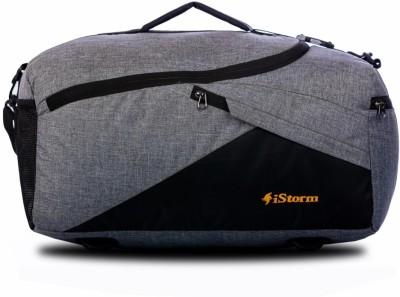 Istorm Summer Travel Duffel bag Black   Grey Duffel Without Wheels