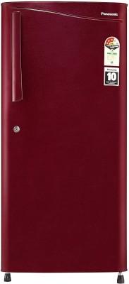 Panasonic 194 L Direct Cool Single Door 3 Star (2020) Refrigerator(Maroon Hairline, NR-A193VMX1)