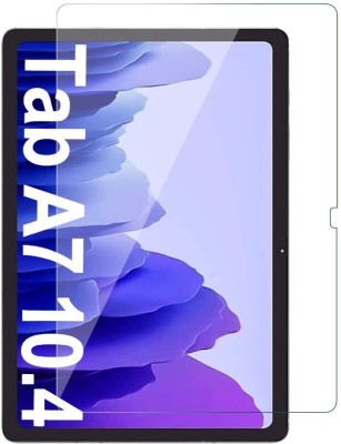 TECHSHIELD Edge To Edge Tempered Glass for Samsung Galaxy tab A7 10.4 Inch(Pack of 1)