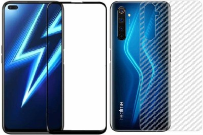Backlund Front and Back Screen Guard for REALME 6 PRO(Pack of 2)