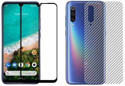 Backlund Front and Back Screen Guard for XIAOMI MI A3,REDMI A3(Pack of 2)