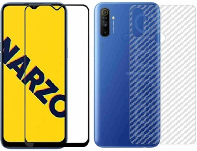 Backlund Front and Back Screen Guard for REALME NARZO 10 ,REALME 5 , REALME 5S,REALME 5 I(Pack of 2)