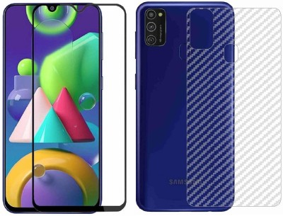Backlund Front and Back Screen Guard for SAMSUNG GALAXY M30S, SAMSUNG GALAXY M21(Pack of 2)