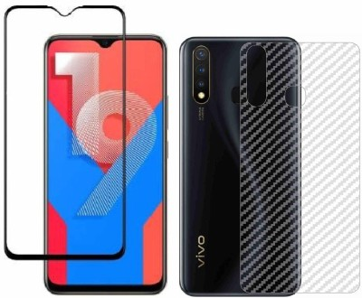 Backlund Front and Back Screen Guard for VIVO Y19, VIVO U20(Pack of 2)