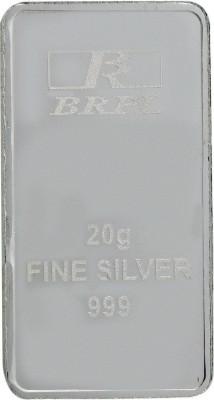 Bangalore Refinery Brpl 20 Gram Silver Bar S 999 20 g Silver Bar Bangalore Refinery Coins   Bars