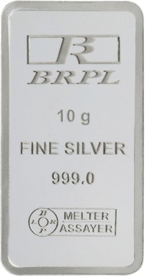 Bangalore Refinery Purity S 999 10 g Silver Bar Bangalore Refinery Coins   Bars