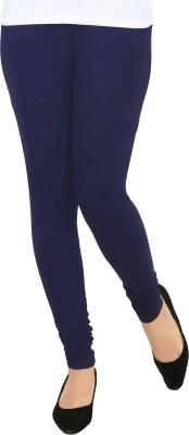 Agsfashion Churidar  Ethnic Wear Legging(Blue, Solid)