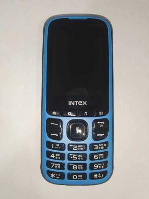 Intex Turbo Slimzz IT0319ND(Blue & Black)