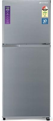 Sansui 271 L Frost Free Double Door 3 Star Refrigerator(Dark Steel, 272JF3SNDS)