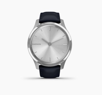 Garmin Vivomove Luxe Smartwatch(Blue Strap, Regular)