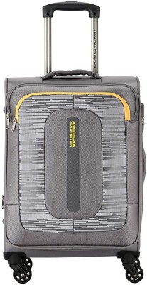 AMERICAN TOURISTER BRISBANE+ Expandable Cabin   Check in Luggage   21 inch