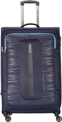 AMERICAN TOURISTER Brisbane Spinner 55 cm Navy Expandable Cabin Luggage   22 inch AMERICAN TOURISTER Suitcases