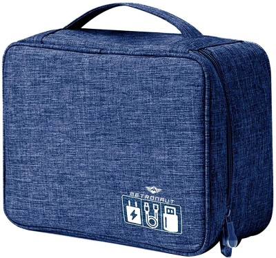 METRONAUT Electronics Accessories Organizer Bag, Universal Carry Travel Gadget Bag for Cables, Plug and More, Perfect Size Fits for Pad...