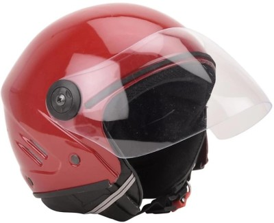 deletion Track ISI Unbreakable Helmet (Red) Motorbike Helmet(Red)