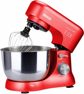 Inalsa Stand Mixer Uni Blend 1000W with 5L SS Bowl| Includes Whisking Cone, Mixing Beater & Dough Hook 1000 W...