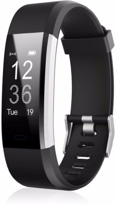 Sunnybuy ID115 Fitness Smart band, body Function(Black Strap, Size : Free Size)