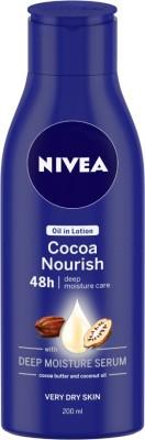 NIVEA Cocoa Nourish Oil in Lotion(200 ml)