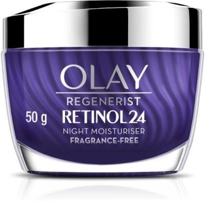 OLAY Night Cream: Regenerist Retinol 24 Moisturiser, 50g(50 g)