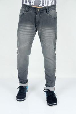 BORN ARROW & CO. Regular Men Black Jeans