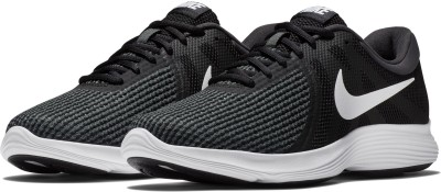 Nike REVOLUTION 4 SS 19 Running Shoes For Men(Black, Green) 1