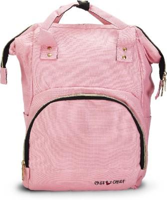Miss & Chief Super Parent Backpack Diaper Bag(Pink)