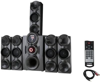 X9X HI BASS DJ SOUND SYSTEM 9500 W 778 JUMBO GREY 9 W Bluetooth Home Theatre(Grey, 5.1 Channel)