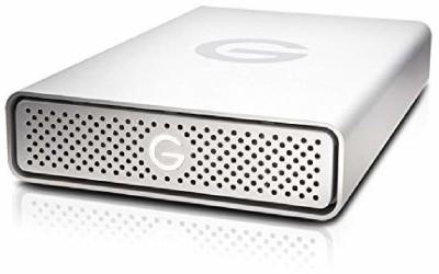 G-Tech 6 TB External Hard Disk Drive(Silver)