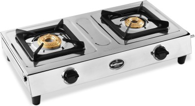 SUNFLAME Smart Stainless Steel Manual Gas Stove(2 Burners)