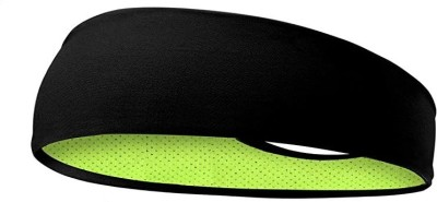 BISMAADH Headbands Reversible Double Side Sweatband for Men & Women-Sweat Bands for Running/Fitness/Yoga/Workout/Gym-Performance Stretch & Moisture Wicking with Sweatband Neon...