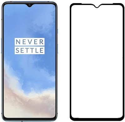 ECMERED Edge To Edge Tempered Glass for OnePlus 7T(Pack of 1)