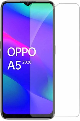 TOP-B Tempered Glass Guard for oppo a5(Pack of 1)